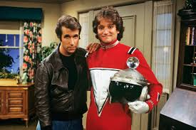 Henry Winkler and Robin Williams - Fonzie and Mork