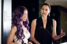 Gugu Mbatha-Raw and Minnie Driver in 'Beyond the Lights'