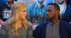 Amy Schumer and LeBron James from 'Trainwreck'