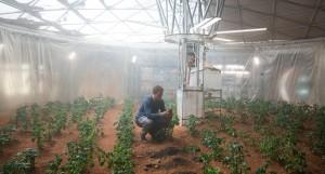 Matt Damon as Mark Watney in 'The Martian'